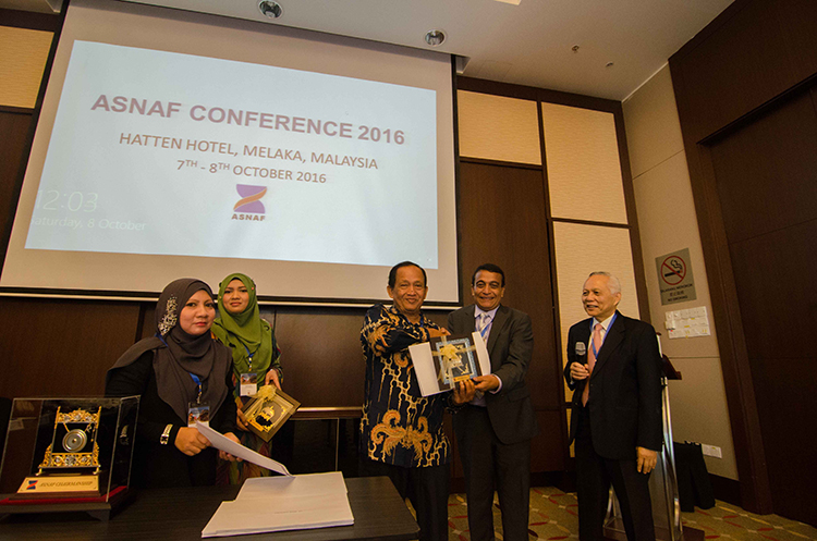 ASNAF Conference 2016 in Malacca, Malaysia on 7 – 8 October 2016